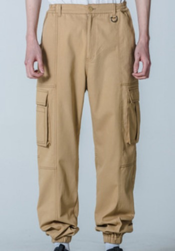 M.O.M.G OVER JOGGER PANTS / BEIGE