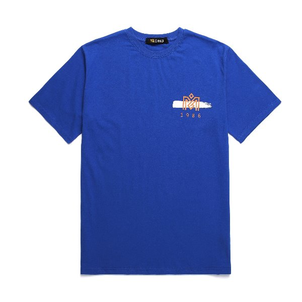 M.O.M.G BRUSH LOGO T / BLUE
