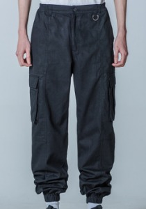 M.O.M.G OVER JOGGER PANTS / BLACK