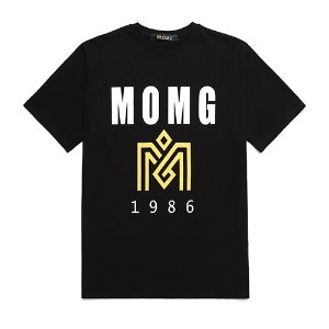 M.O.M.G BASIC BIG LOGO T / BLACK