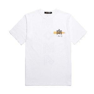 M.O.M.G BRUSH LOGO T / WHITE